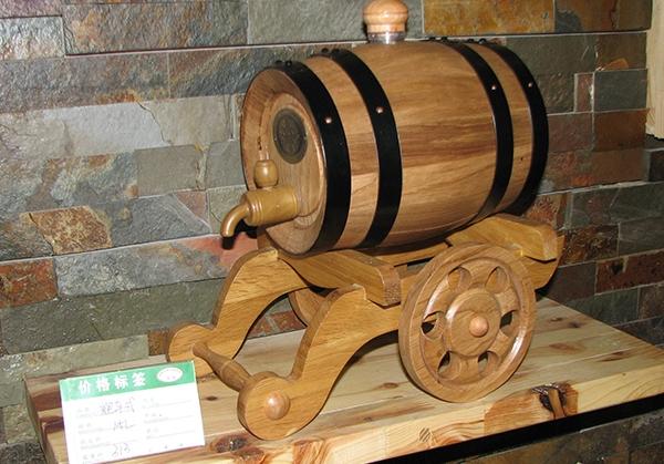 炮车式1.5L本色橡木桶