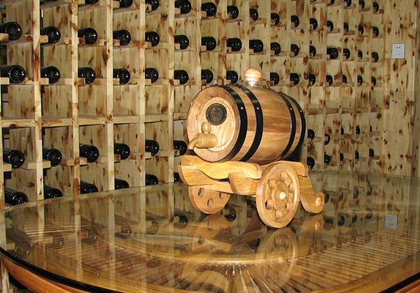 广州炮车式3L本色橡木桶